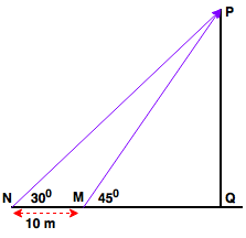 height and distance ans-1